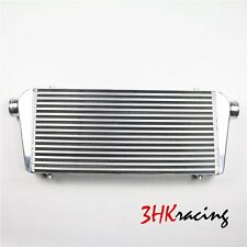"""30x11x2.5 2.5"""" Inlet & Outlet  Universal Bar&Plate Front Mount Turbo Intercooler"""