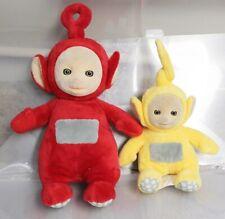 Teletubbies Lot of 2 Talking Po & Sitting Laa-Laa Stuffed Plush