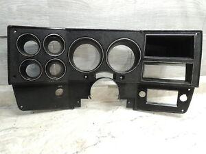 1981-1987 Chevrolet Diesel Truck C/K GMC Instrument Gauge Dash Bezel W/O AC