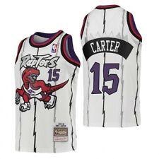 VINCE CARTER TORONTO RAPTORS Mitchell Ness NBA White Jersey =SIZE 40M NWT NEW=
