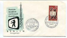 1961 Deutsche Rundfunk Fernseh-Ausstellung Berlin Charlottenburg Phono SPACE