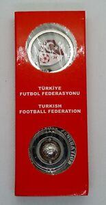 Turkey Football Federation lot of badge and keyring