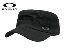 OAKLEY® CAP ARMY CADET MILITARY HAT NEW BLACK PLAYERS ADJUSTABLE UNISEX