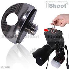 """1/4"""" Adaptador Tornillo Colgante Cámara Nikon F D7000/D5100/D5000/D3100/D3000/D200/D100"""