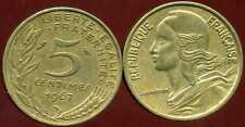 5 centimes 1967   MARIANNE   ( pas courant )   ( bis )