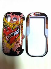 SAMSUNG INTENSITY/DOUBLE TAKE U450 HEART GLOSSY COVER  NEW