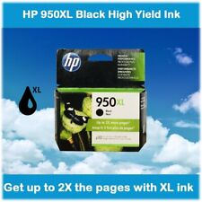 HP 950XL Black High Yield Ink Cartridge for OfficeJet Pro Printers, EXPIRE 2020