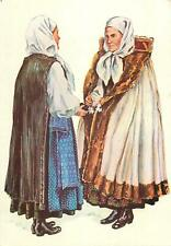 Saxon folk types from Transylvania Romania folklore costumes Slimnic Sibiu