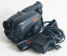RCA SMALL WONDER VHS VIDEO CAMERA WITH CHARGER AS IS FOR PROPS