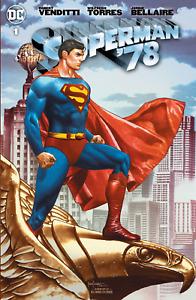 Superman '78 #1 Mico Sauyan Variants