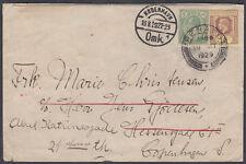 1929 Straits Settlements, Penang to Copenhagen,, Denmark; redirect