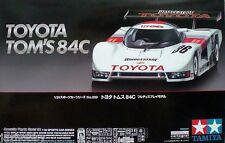 Tamiya 24289 1/24 Scale Model Group C Sports Car Kit Toyota Tom's 84C