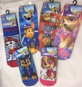 Paw Patrol Socks SELECT Multi Themes Boys & Girls Nickelodeon