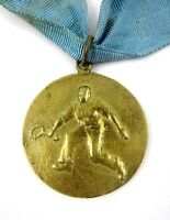 Vintage Sport Medal National Tennis Championship of Bulgaria 1950 2nd place
