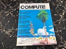 DEC 1985 PERSONAL COMPUTING magazine SPEEDSCRIPT - ATARI