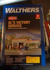 N Walthers Cornerstone kit 933-3243 * Al's Victory Station * NIB