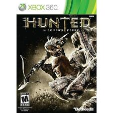 Pal version Microsoft Xbox 360 Hunted the Demons Forge