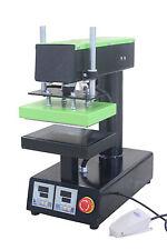 Pneumatic Hot Press machine 15*20cm Upper&lower Plate Heat Press Transfer 110V Y