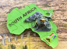 Südafrika Büffel Reiseandenken Souvenir 3D Polyresin Kühlschrankmagnet Magnet