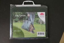 Heavy Duty Log Carrier - Polyethylene, Durable Webbed handles for easy carrying