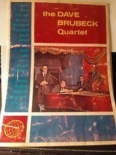 The Dave Brubeck Quartet - Feb. 22, 1964 program