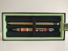 Paul Smith Multi Stripe Ballpoint Pen [by Cross] and Pencil Set