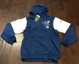 NIKE Men's Anorak INDIANAPOLIS COLTS HOODED WINDBREAKER Sz.S NEW CD8760 431 RARE
