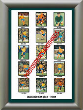 EVERTON - 1969-70 - REPRO STICKERS A3 POSTER PRINT