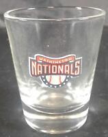 Shot Glass Washington Nationals Baseball Crystal Clear Barware