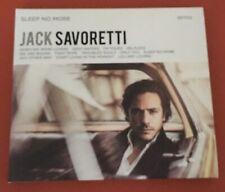 Jack Savoretti - Sleep No More CD Album (Digipack)