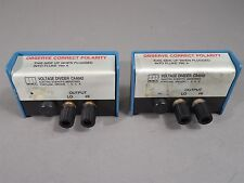 Lot of 2 ESI CA6042 Voltage Divider 10kΩ 100V