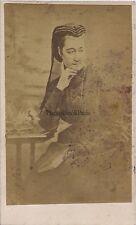 L'Impératrice Eugénie Photo Teruel CDV Photo VintageAlbumine