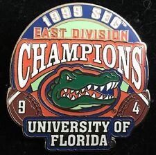 UNIVERSITY OF FLORIDA  GATORS 1999 SEC EAST CHAMPIONS WILLABEE & WARD PIN