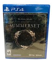 Elder Scrolls Online Summerset: Playstation 4 [Brand New] PS4
