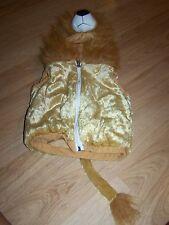 Infant / Toddler Size 18-36 Months Chrisha Playful Plush Lion Halloween Costume