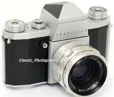 Praktica IV 35mm SLR Camera by Kamera-Werkstätten in 1959 + Zeiss BIOTAR 2/50mm