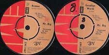 DISCO 45 Giri  Mr. Big - Romeo / Goodbye World