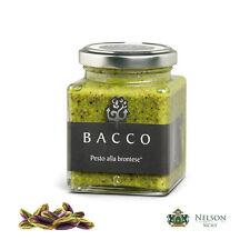 Pesto alla Brontese èlite Bacco 190 gr  - 80% Pistacchio Made in Sicily!