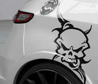 Tribalaufkleber Auto Aufkleber Totenkopf Tribals Sticker OEM JDM Motorrad FUN