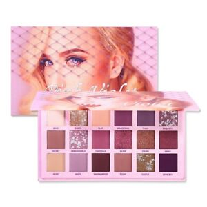 Changeable Pink Violet Nude Eye Shadow Palette Makeup 18 Colors Matte Shimmer