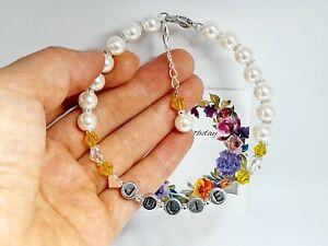 Luxury Personalised Birthstone Bracelet Made with Swarovski