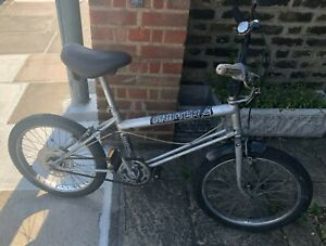 Classic Silver RALEIGH GRIFTER children's bike from 1970s