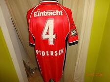 """Eintracht Frankfurt Puma Trikot 1998/99 """"Viag Interkom"""" + Nr.4 Pedersen Gr.XL"""
