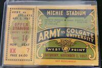 1957 ARMY vs COLGATE UNIVERSITY West Point Michie Stadium November 2nd