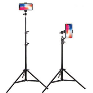 Photographic Lighting Tripod Stand 0.5m/1.6m/2.1m Ring Lamp Stand For Ring Light