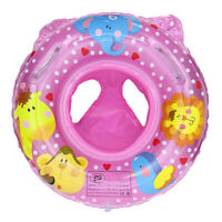 Babys Kids Swim Ring Seat Inflatable Toddler Float Trainer Safety Swimming Pool