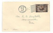 AT175 1932 Canada *OTTAWA CONFERENCE* Ontario Cover Quebec FDC {samwells} PTS