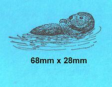 Sea Otter Rubber Stamp