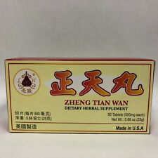 Zheng Tian Wan - Herbal Supplement for Pain Relief - Made in USA