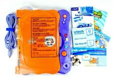 2007 NEW Vtech V.Smile Smartbook Purple And Orange With Scooby Doo Game & Book